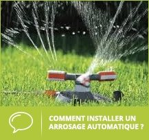 installation arrosage automatique
