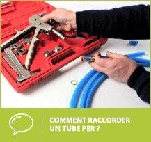 Raccorder tube PER