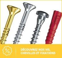 quincaillerie : vis et fixation