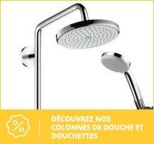 Colonne de douche et douchette