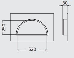 Niche à carreler Oasis gamme Panodur Lazer