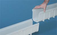 Caniveau PVC modulaire