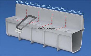 grille fente pour caniveau pvc s rie 100. Black Bedroom Furniture Sets. Home Design Ideas
