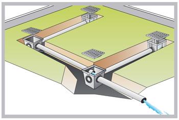 Exemple d'installation des regards PVC