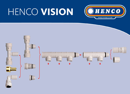 Assemblage collecteur vision Henco