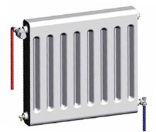 Raccordement radiateur t te thermostatique et robinet - Quelle puissance pour un radiateur ...