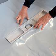 kit caniveau de douche avec grille inox pratiko bagno. Black Bedroom Furniture Sets. Home Design Ideas