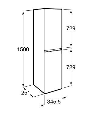 dimension colonne ANIMA 1500