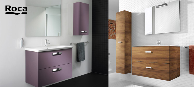 blog meubles de salle de bains gamme roca. Black Bedroom Furniture Sets. Home Design Ideas