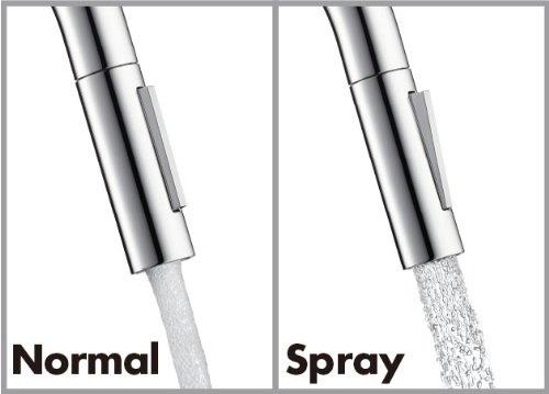 Jet normal ou spray
