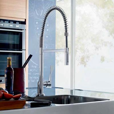 robinet cuisine avec douchette